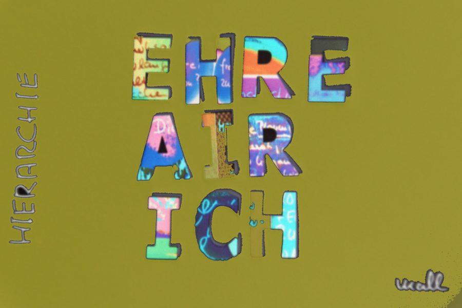 BUCHSTABENWIRBEL - Hierarchie
